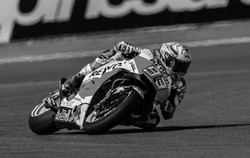 Marc Marquez Trying to Get His Elbow Down