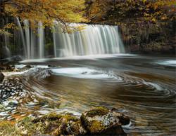 Scwd Ddwli falls Wales