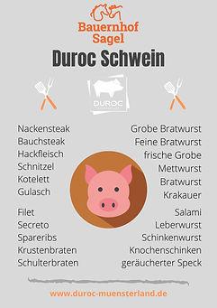 Einzelware Durocfleisch