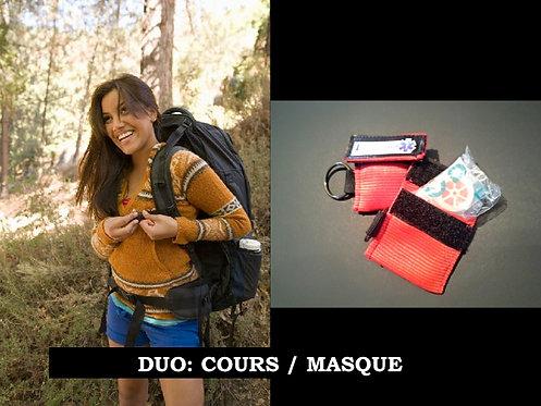DUO:  Secourisme Camp de jour (8hrs) / Masque