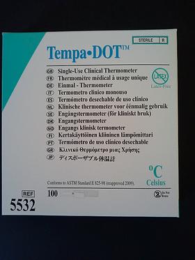Thermomètre à usage unique