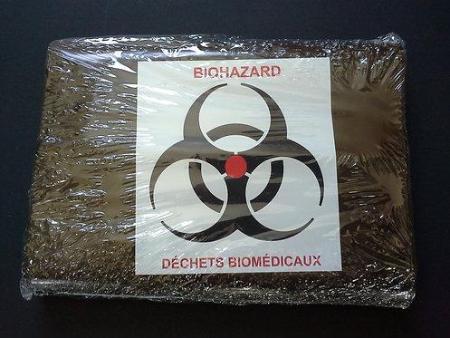 Sacs pour déchets biomédicaux