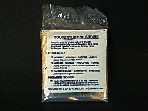 """COU-1232 Couverture de survie 52""""x84"""""""