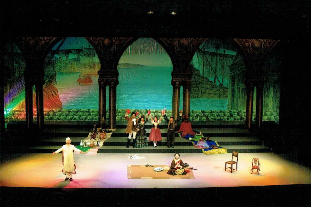 オペラ「後宮からの逃走」ブロンデ役