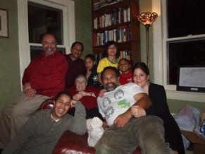 Grandma with sons and grandchildren (Elijah, Sampson, Jordyn, Naia)