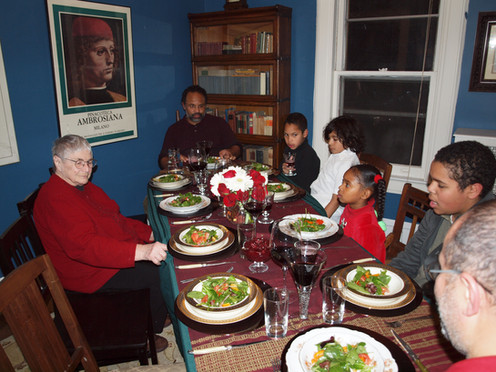 """Ethel's favorite phrase:  """"This was the best meal I ever had!"""""""