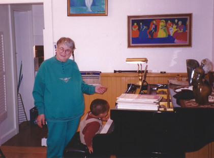 There is nothing like a young grandson who likes the piano!