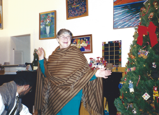 All Hail Holiday Queen Ethel!