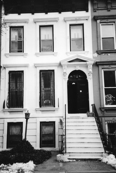 The White House!  The family home at 187 Prospect Place.  It remains in the family!