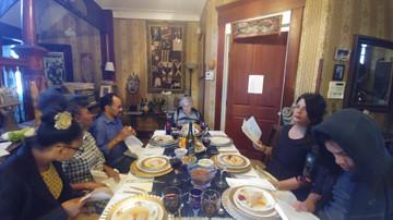 Family Seder.  Ethel's favorite holiday!