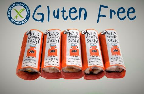 Tasty + Fresh + 100% Gluten Free Sushi