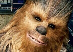 Who denies a 6-year-old--Chewbacca Cake?