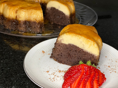 Lets try it together-Chocoflan