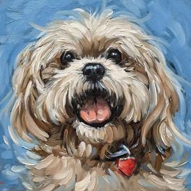 animal oil painting 油畫班