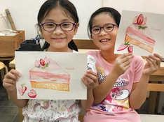 kidsworkshop 甜品繪畫 興趣班-4歲