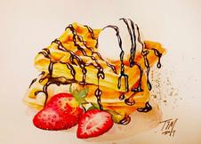 tim-dessert watercolor