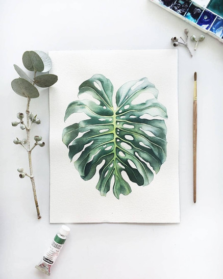 little thing watercolor painting
