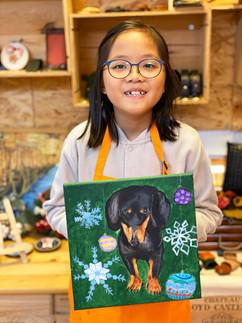kid pet drawing