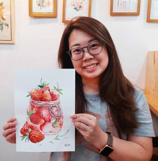Adult regular watercolor course