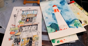 urban sketching 小西灣工作室