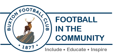 Buxton FC in the Community Logo - No Fra