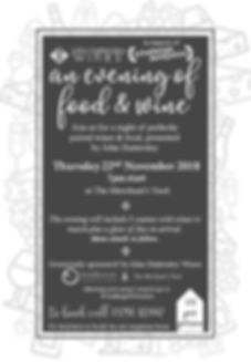 Hattersley #CD Wine Event at TMY - Flyer