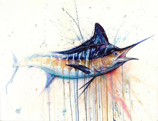Marlin - Komatex (hard board print)