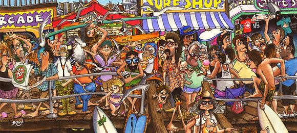 Midsummer Madness - Komatex (hard board print)