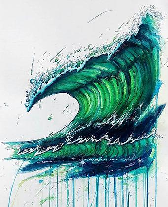 Green Room - Komatex (hardboard print)