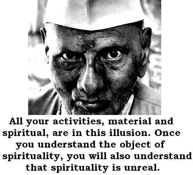 Spiritualität ist illusionär ...