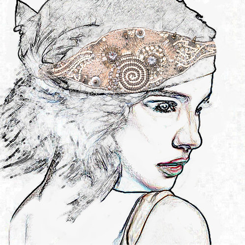 Anna Campbell Decorative Hair Piece