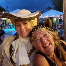 Patty & Suzanne at Pirate's Ball
