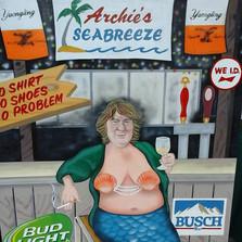 Patty the mermaid
