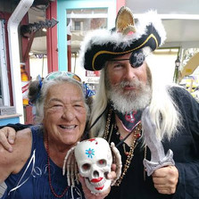 Patty with Archie the Pirate