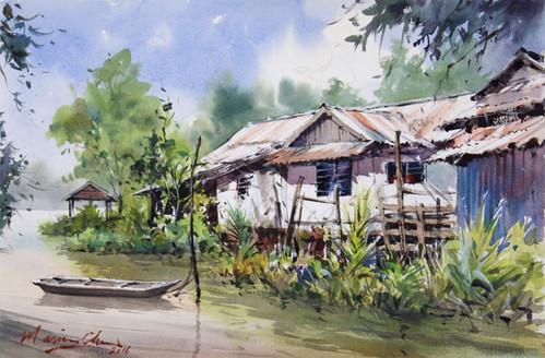 Clear Sunny Day • Bawang Assan Longhouse, Sibu, Sarawak