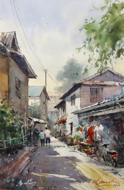 Returning Home • Kampung Boyan, Kuching, Sarawak