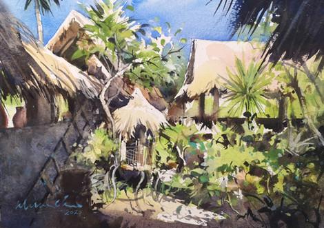 Backyard Lights • Ubud, Bali