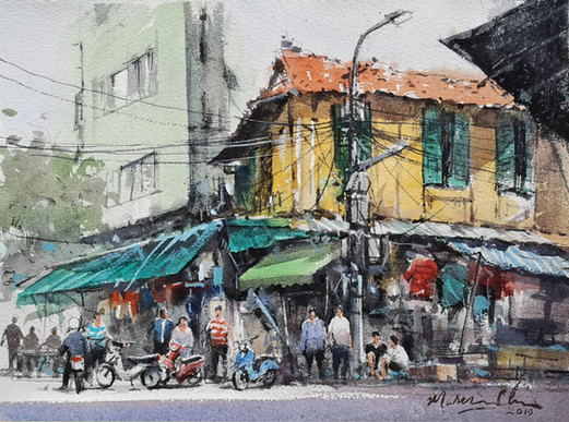 Yellow Shop • Hanoi Old Quarter, Vietnam