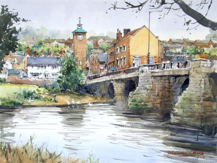 Flowing Through River Severn • Bridgnorth, UK
