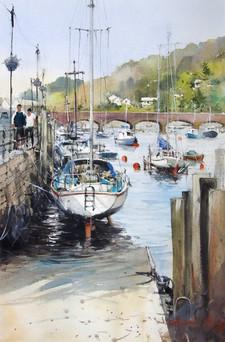 Waiting For High Tide • Looe, Cornwall, England