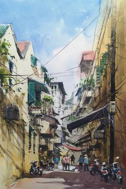 Hanoi Backlane No.1, Vietnam
