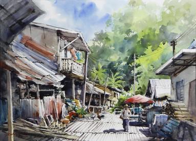 Back From the Farm • Annah Rais Bidayuh Longhouse