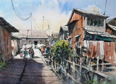 Papa, I Wanna Go Too • Tanjong Pinang, Indonesia