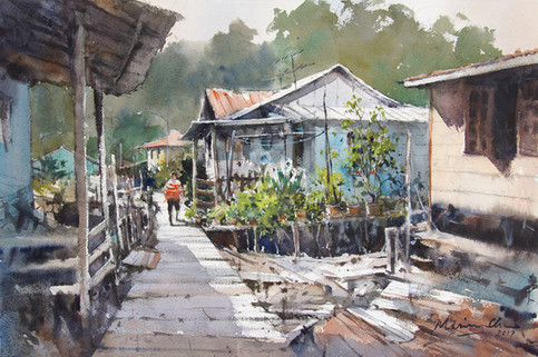 Yearning for A Simpler Life • Kampung Bako, Kuching, Sarawak
