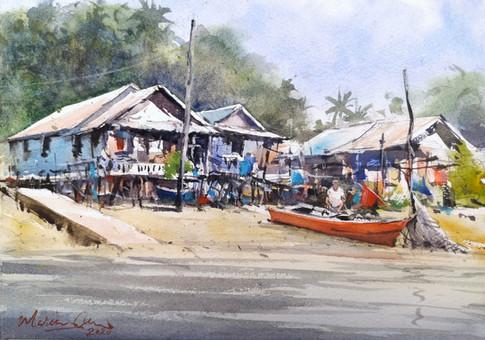 Kampung Bako Fishing Village • Sarawak