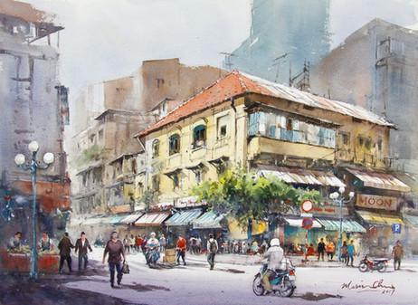 Busy Street • Ho Chi Minh City, Vietnam