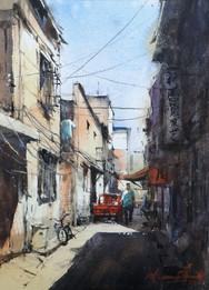 Back Alley • Xian, Chin