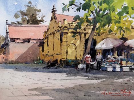 Yellow House, Duong Lam Ancient Village • Vietnam