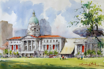 National Gallery Singapore and The Padang