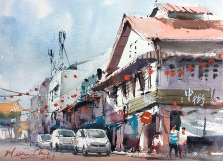 Carpenter Street • Kuching, Sarawak